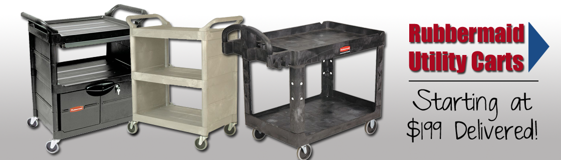featured products - Rubbermaid Utility Cart