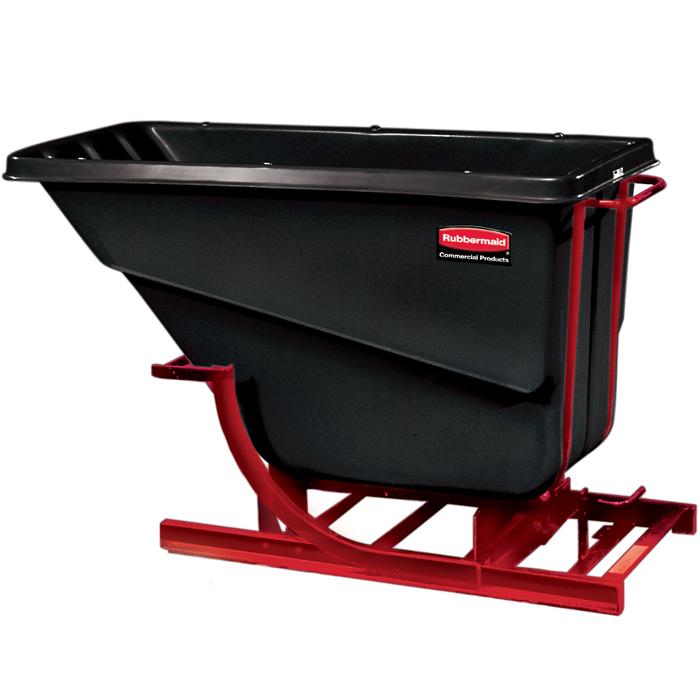 1059 Self Dumping Hopper | Rubbermaid TIlt Trucks | Mobile Trash Bins ...