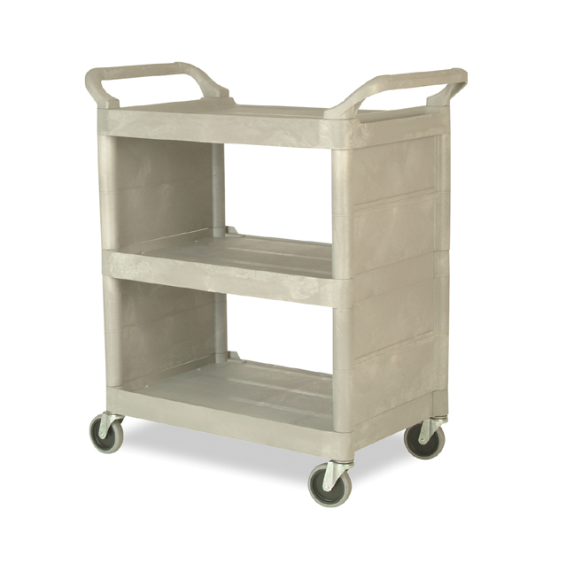 Rubbermaid 3355 88 Utility Cart Enclosed End Panels