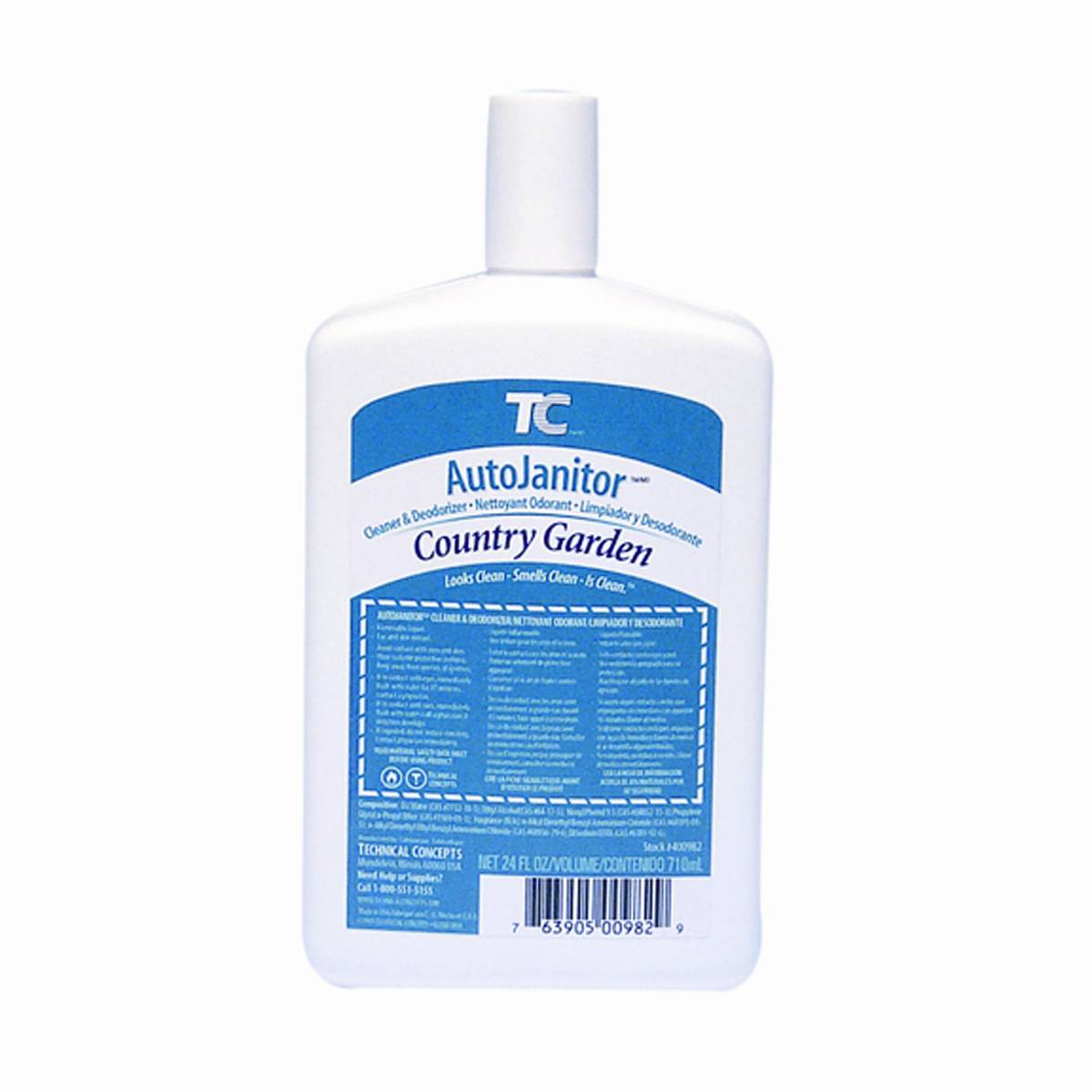 Rubbermaid 400982 auto janitor cleaner deodorizer refill country delight for Country garden 6 pack