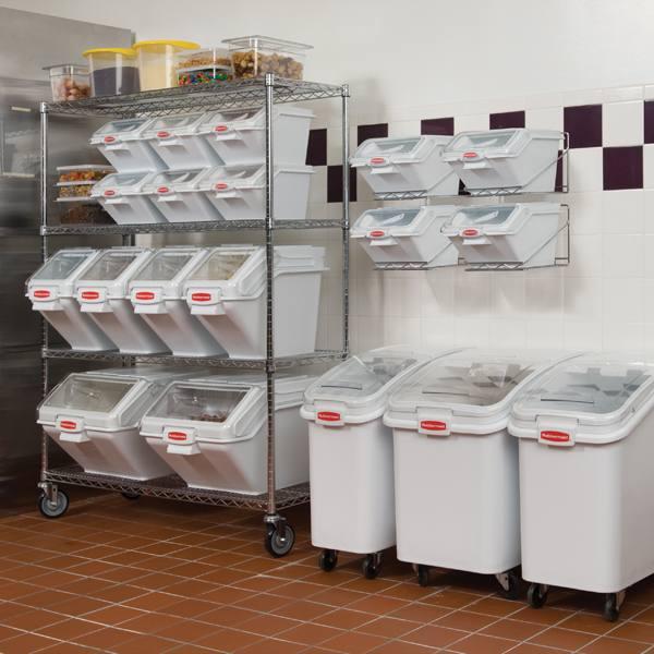 Industrial Kitchen Brands: Rubbermaid 9G79 Mobile Rack For Prosave Shelf Ingredient