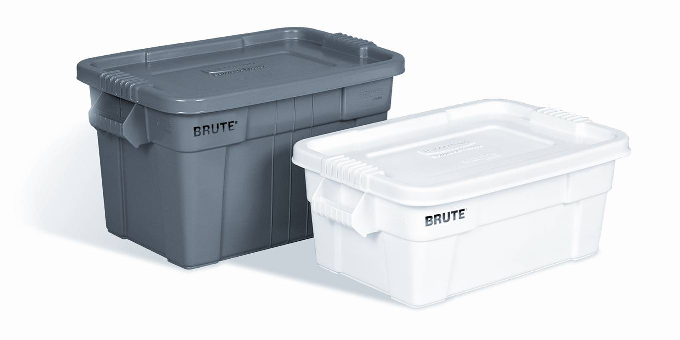 Rubbermaid 9S30 Brute Rubbermaid Storage Totes With Lids