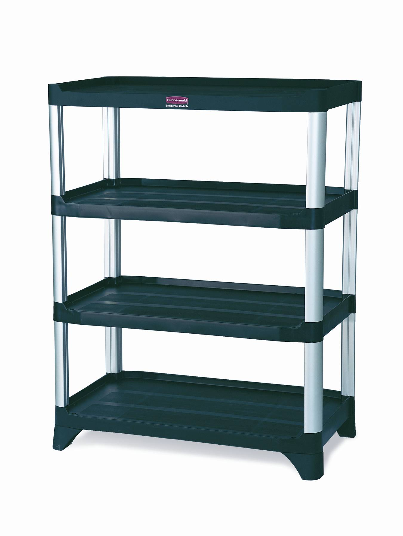 Rubbermaid 9t36 Storage Shelving 4 Shelf Unit