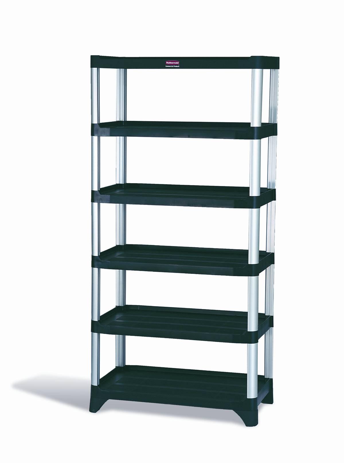 Exceptionnel Rubbermaid 9T40 Storage Shelving, 6 Shelf Unit