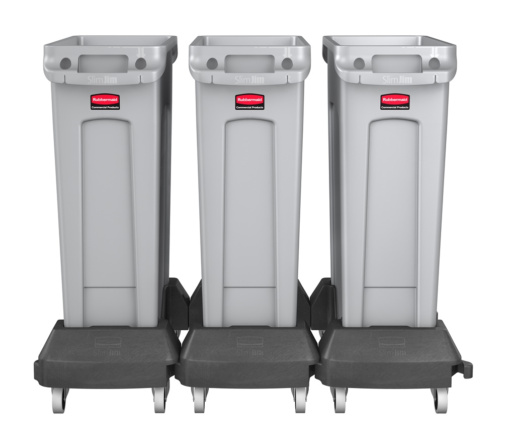 """Rubbermaid Commercial Products Stock Tank, Black, 25""""H x ...  