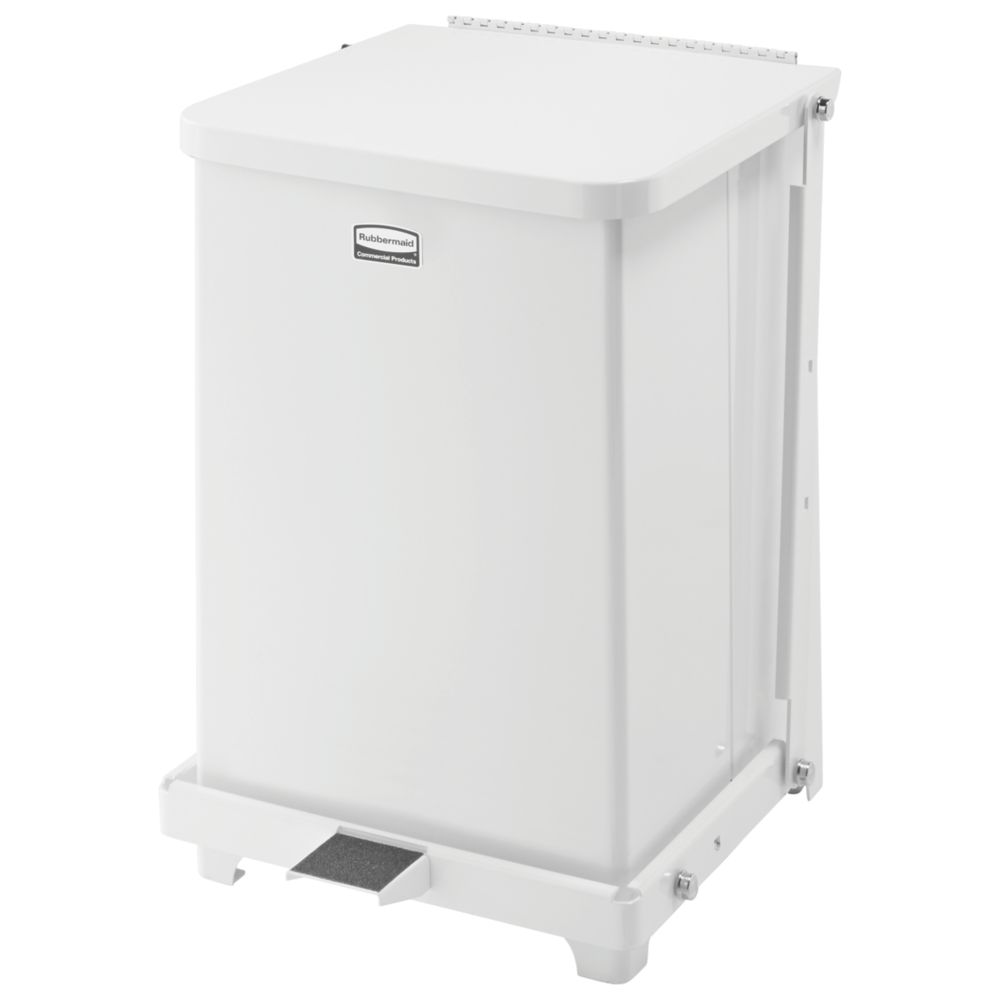 Rubbermaid S3SST Stainless Steel Round Open Top Receptacle  |Rubbermaid Agricultural Products