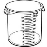 View: 5727 Round Storage Container Pack of 6