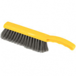 "View: 4 Pack 6342 Plastic Block Counter Brush, Flagged Polypropylene Fill with 8"" Bristle Coverage Clearance"