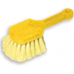 View: 3 pack 9B29 hort Plastic Handle Utility Brush, Synthetic Fill