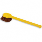 View: 3 pack 9B31 Long Plastic Handle Utility Brush, Palmyra Fill
