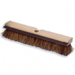 View: 4 Pack 9B35 Deck Brush, Wood Block, with Squeegee, Palmyra Fill Clearance