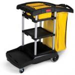View: Rubbermaid 9T72 High Capacity Cleaning Cart